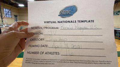 Ronald Reagan High School [Junior Varsity - Hip Hop Virtual Finals] 2021 UDA National Dance Team Championship