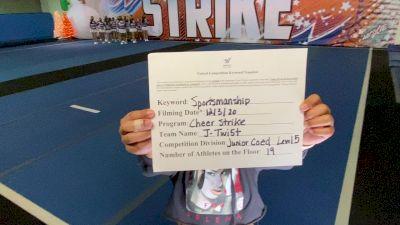Cheer Strike Allstars - J-Twi5t [Level 5 L5 Junior Coed] Varsity All Star Virtual Competition Series: Event VI