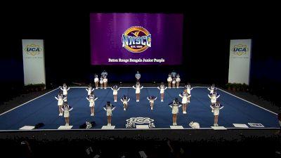 Baton Rouge Bengals Junior Purple [2021 Trad Rec Non Aff 12Y Finals] 2021 UCA National High School Cheerleading Championship