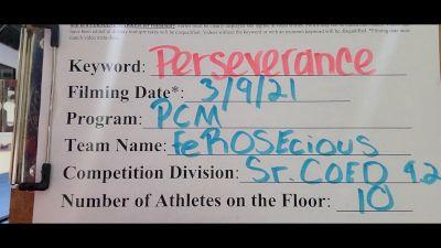 Pacific Coast Magic - Ferocious [L4.2 Senior Coed] 2021 USA All Star Virtual Championships
