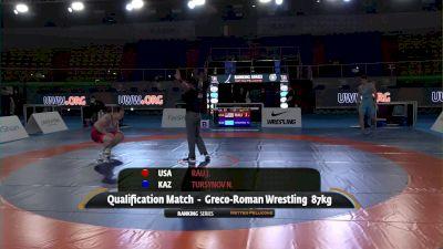 87KG Josef Patrick RAU, USA vs - Nursultan TURSYNOV, KAZ