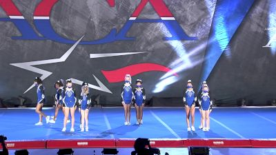 Cheer Athletics- Frisco - Silver StarCats [2021 L1.1 Youth Prep Day 1] 2021 ACA All Star DI Nationals
