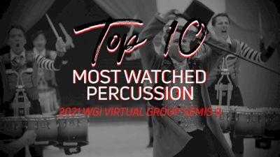 TOP 10: Most Watched Perc WGI Virtual Group Semis B