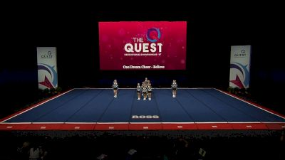 One Dream Cheer - One Dream Believe [2021 L1 Performance Rec - 12Y (NON) - Small Semis] 2021 The Quest