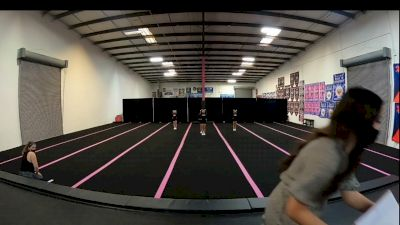 Fierce Cheer Elite - Tiny Tiaras [L1 Tiny - Novice - Restrictions] 2021 Varsity All Star Winter Virtual Competition Series: Event V