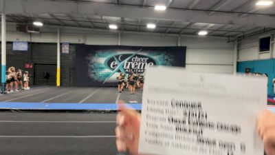 Cheer Extreme - Chicago - Blackout [L5 Senior Open] 2021 Varsity All Star Winter Virtual Competition Series: Event V
