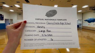 Cherry Creek High School [Virtual Large Varsity - Pom Semi Finals] 2021 UDA National Dance Team Championship