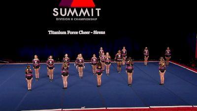 Titanium Force Cheer - Sirens [2021 L2 Junior - Small Finals] 2021 The D2 Summit