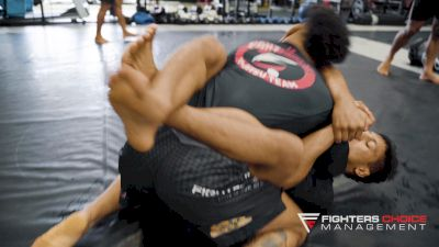 Mica Galvao and Luta Livre Black Belt Gesias JZ Cavalcante Roll
