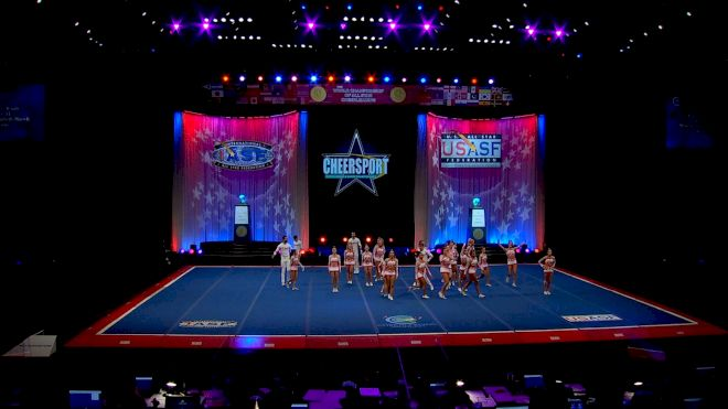 Infinity Allstars - Royals [2021 L6 International Open Small Coed Semis] 2021 The Cheerleading Worlds