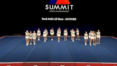 Rock Solid All Stars - SAVIORS [2021 L4 International Open Prelims] 2021 The Summit