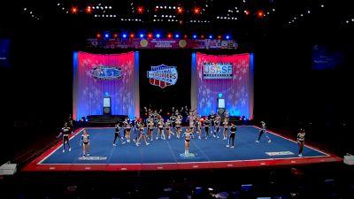 The Stingray Allstars - Marietta - Steel [2021 L6 Senior Large Coed Semis] 2021 The Cheerleading Worlds