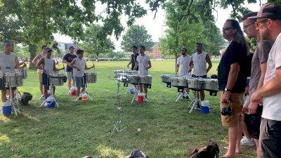 """2021 Bluecoats Spring Training: Battery Plays """"Pressure"""""""