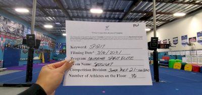 California Spirit Elite - Spotlight [L2.1 Junior - PREP - Non-Building] 2021 PacWest Virtual Championship
