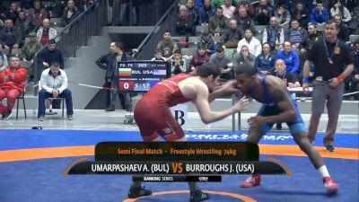 Jordan Burroughs (USA) vs Ali-Pasha Umarpashaev (BUL)