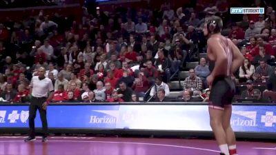 141 lbs Noah Baughman, Cornell vs JoJo Aragona, Rutgers