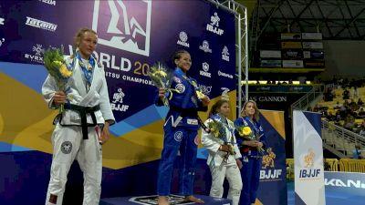 Ana Carolina Vieira vs Laurah Hallock 2019 IBJJF Worlds