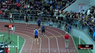 Men's 200m, Heat 22