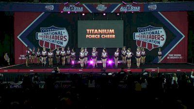 Titanium Force Cheer - Code Black [2020 L4 Medium Senior D2 Day 2] 2020 NCA All-Star Nationals
