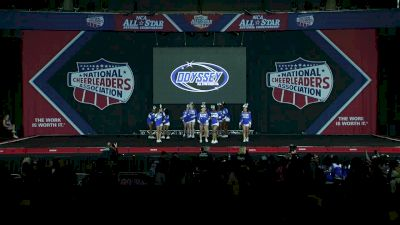 Odyssey Cheer Company Aftershock [2020 L3 Small Junior D2 Day 1] 2020 NCA All-Star Nationals