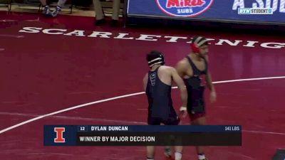 149 lbs Mousa Jodeh, Illinois vs Nick Santos, Rutgers