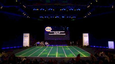 Exeter Township High School [2020 Junior Varsity Non Tumbling Game Day Semis] 2020 UCA National High School Cheerleading Championship