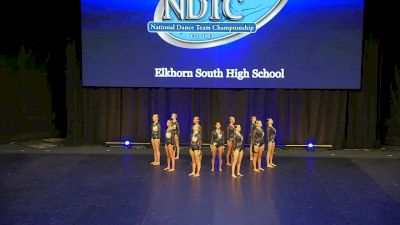 Elkhorn South High School [2020 Small Jazz Semis] 2020 UDA National Dance Team Championship