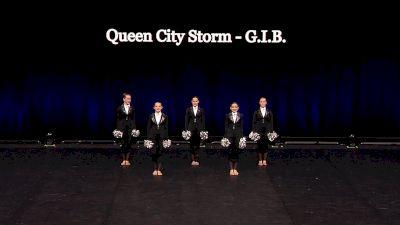 Queen City Storm - G.I.B. [2021 Junior Pom Semis] 2021 The Dance Summit