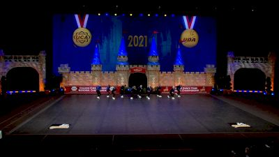 Hawkeye Community College [2021 Open Hip Hop Semis] 2021 UCA & UDA College Cheerleading & Dance Team National Championship