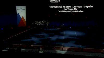 The California All Stars - Las Vegas - J-Spades [2021 L5 Junior Coed - Large Semis] 2021 The Summit