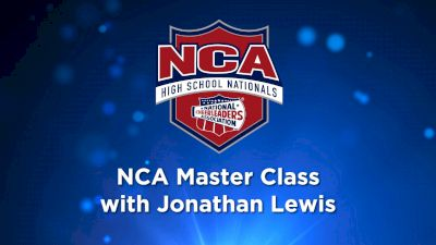 NCA Master Class With Jonathan Lewis
