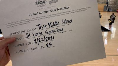 Trist Middle School [Game Day - Junior High] 2021 UCA February Virtual Challenge