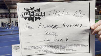 The Stingray Allstars - Steel [L6 Senior Coed - Large] 2021 NCA All-Star Virtual National Championship