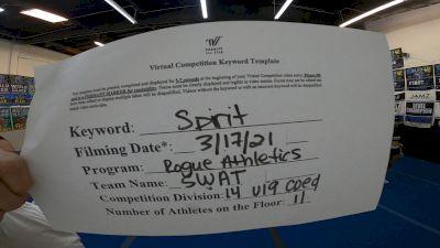 Rogue Athletics - SWAT [L4 - U19 Coed] 2021 PacWest Virtual Championship