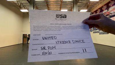Xtreme Dance [Senior - Pom] 2021USA Virtual Dance Winter Series #2