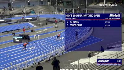 Vincent Crisp and Charles Jones Run World Top Five 600m