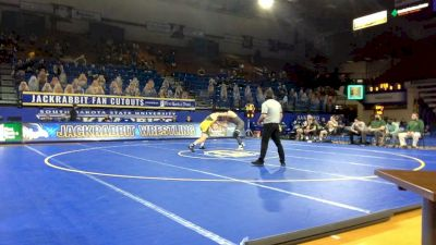 197 lbs Owen Pentz, NDSU) vs Jacob Armstrong, Utah Valley