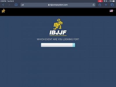 How To Find The Brackets for IBJJF 2020 Pan Championships