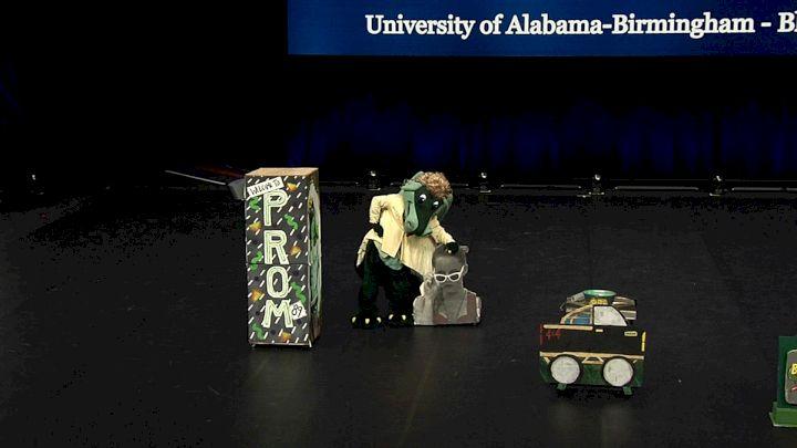 University of Alabama-Birmingham - Blaze [2021 Mascot Finals] 2021 UCA & UDA College Cheerleading & Dance Team National Championship