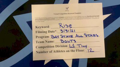 Bay State All Stars - Bolts [L1 Tiny] 2021 The Regional Summit Virtual Championships