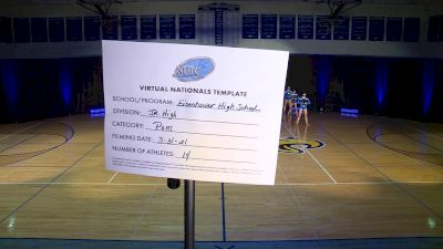 Eisenhower High School [Junior High - Pom ] 2021 UDA National Dance Team Championship