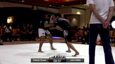 Gabriel Sousa vs John Battle Emerald City Invitational Event #2