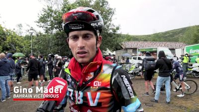 Gino Mäder: 'I Saw Some Weakness In My Legs'