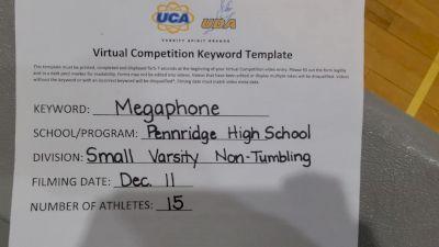 Pennridge High School [Small Varsity - Non Tumble] 2020 UCA Pocono Virtual Regional