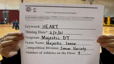 Majestic Dance Team [Senior - Variety] 2021 NCA & NDA Virtual February Championship