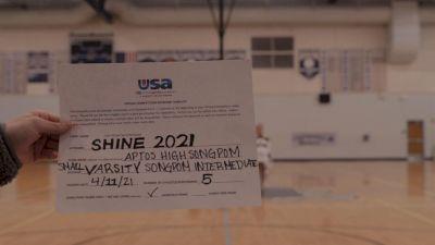 Aptos High School [Varsity - Song/Pom - Intermediate Prelims] USA Spirit & Dance Virtual National Championships