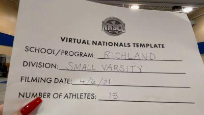 Richland High School [Virtual Small Varsity Division II Finals] 2021 UCA National High School Cheerleading Championship