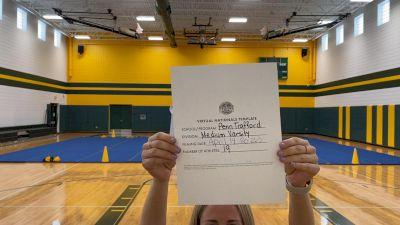 Penn-Trafford High School [Virtual Medium Varsity Finals] 2021 UCA National High School Cheerleading Championship