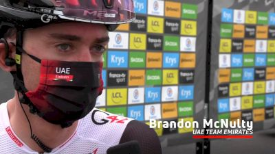 Brandon McNulty: 'We Had Good Legs Yesterday' - Stage 18 Of The 2021 Tour De France