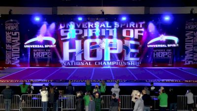 The Atlanta Jayhawks SHADE [2021 International Global 6 Day 2] 2021 Universal Spirit: Spirit of Hope National Championship